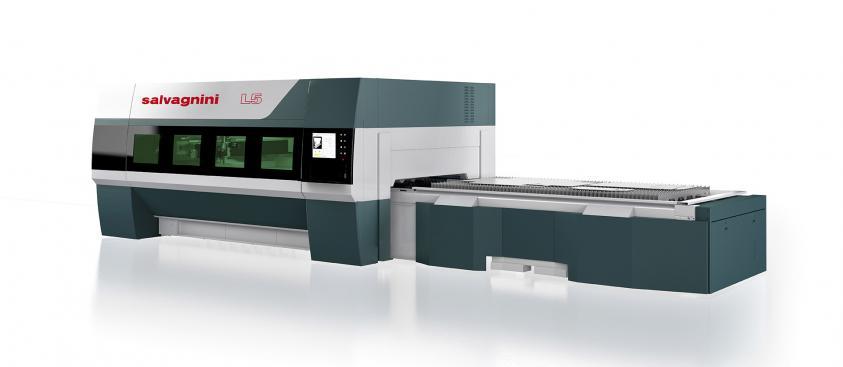 Impianto taglio laser SALVAGNINI L5-30 FIBRA